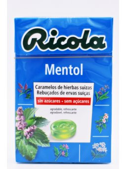 RICOLA CARAMELOS SIN AZÚCAR  MENTOL 50 G