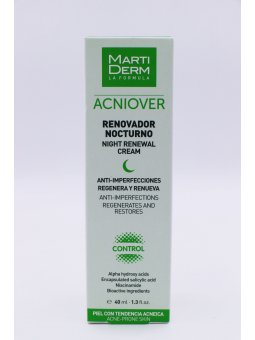 MARTIDERM ACNIOVER RENOVADOR NOCTURNO  40 ML