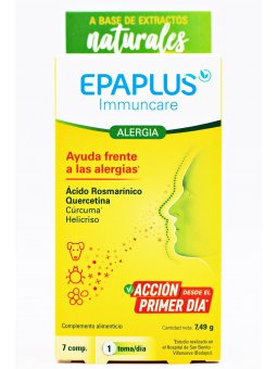 EPAPLUS IMMUNCARE ALERGIA  7 COMPRIMIDOS