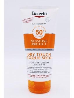 EUCERIN SUN BODY GEL CREAM DRY TOUCH SPF 50+ SENSITIVE PROTECT 200 ML