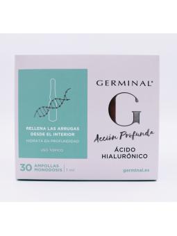 GERMINAL ACCIÓN PROFUNDA ACIDO HIALURONICO AMPOLLAS 30X1 ML