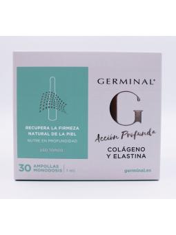 GERMINAL ACCIÓN PROFUNDA COLAGENO Y ELASTINA AMPOLLAS 30 U