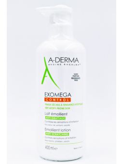 A-DERMA EXOMEGA LECHE EMOLIENTE  400 ML