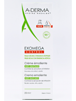 A-DERMA EXOMEGA CREMA EMOLIENTE 200 ML