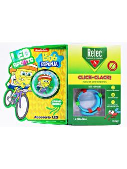 PULSERA RELEC CLICK CLACK + RELOJ TORTUGA