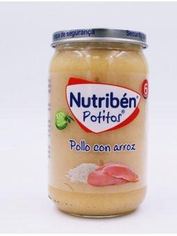 NUTRIBEN POLLO CON ARROZ  POTITO 235 G