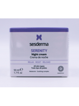 SESDERMA SERENITY CREMA DE NOCHE 50 ML