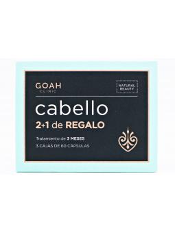 GOAH CLINIC CABELLO TRIPLO 3X60 CAPSULAS