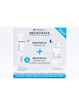 NEOSTRATA PAKC GEL FORTE SALICILICO 100 ML + CREMA SHEER HYDRATION HL 50 ML