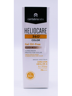HELIOCARE 360º COLOR GEL OIL FREE SPF50+ BRONZE INTENSE 50 ML