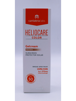 HELIOCARE COLOR GELCREM BROWN SPF50+ 50 ML