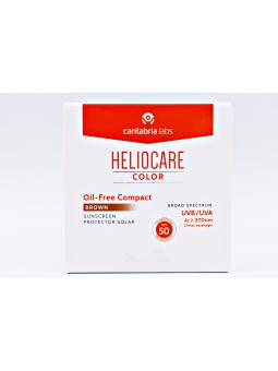HELIOCARE COLOR COMPACTO OIL-FREE  BROWN SPF50+