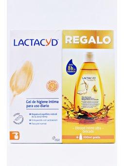 LACTACYD PACK - LACTACYD GEL USO DIARIO 200 ML + LACTACYD PRECIOUS OIL 200 ML