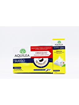 PACK AQUILEA SUEÑO 60 COMPRIMIDOS + AQUILEA SUEÑO GOTAS 20ML