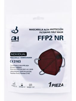MASCARILLA FFP2 GRANATE