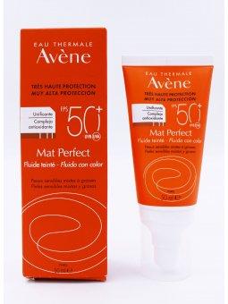 AVENE MAT PERFECT FLUIDO CON COLOR SPF 50+ ENVASE 50 ML