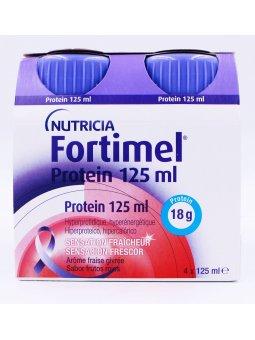 FORTIMEL PROTEIN  4 BOTELLAS 125 ML SABOR FRUTOS ROJOS