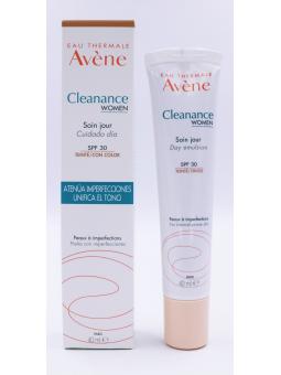 AVENE CLEANANCE WOMAN CUIDADO DIA COLOR SPF 30  40 ML