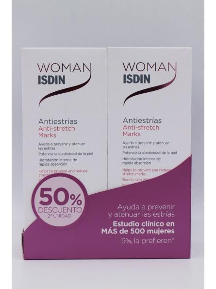 DUPLO WOMAN ISDIN ANTIESTRIAS 2X250 ML