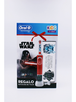 CEPILLO ELECTRICO ORAL-B INFANTIL STAR WARS