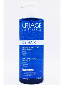 URIAGE DS HAIR CHAMPU SUAVE REGULADOR 500 ML