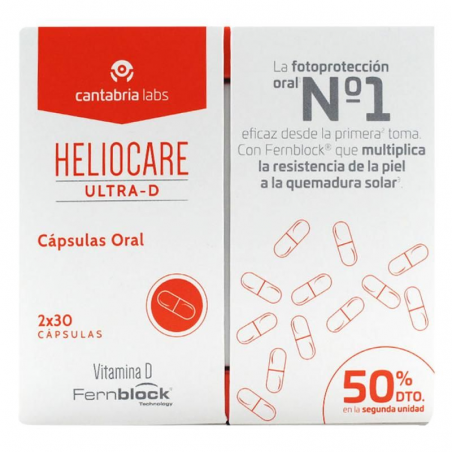 HELIOCARE ULTRA D PACK 60 CAPSULAS