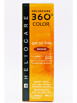 HELIOCARE 360º COLOR GEL OIL FREE SPF50+ BRONZE 50 ML