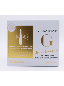 GERMINAL ACCION INMEDIATA TRATAMIENTO PROGRESSIVE LIFTING  30 AMPOLLAS