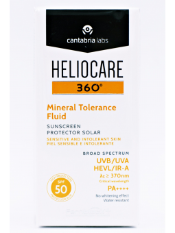 HELIOCARE 360º MINERAL TOLERANCE FLUID SPF50+ 50 ML