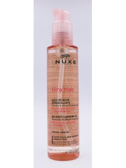 NUXE VERY ROSE ACEITE DELICADO DESMAQUILLANTE 150ML