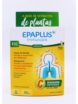 EPAPLUS IMMUNCARE VIRAVIX  15 STICKS 10 ML