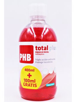 PHB TOTAL PLUS ENJUAGUE BUCAL 500ML