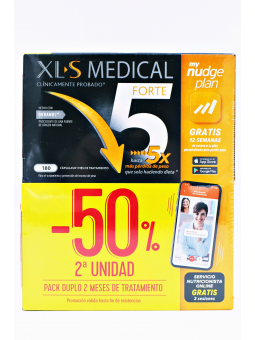 XLS MEDICAL 5X FORTE DUPLO 2X180 CAPSULAS